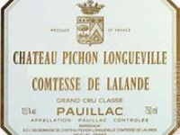Pichon Comtesse smagning onsdag den 7. februar 2018